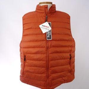 32 Degrees Heat Men's Sleeveless Zip-Front Vest